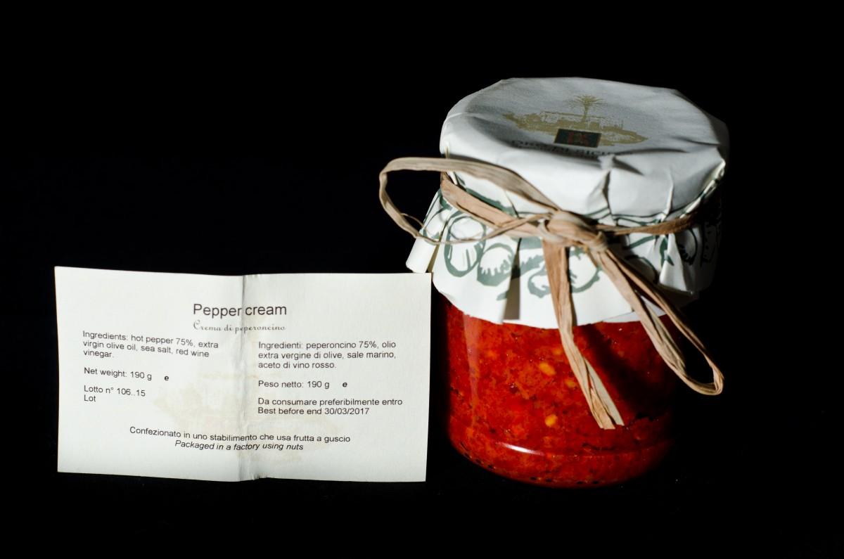 Kazzen Hot Red Pepper Cream, 190 g